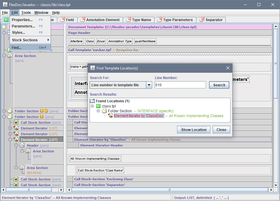 FlexDoc/Javadoc - FlexDoc Doclet