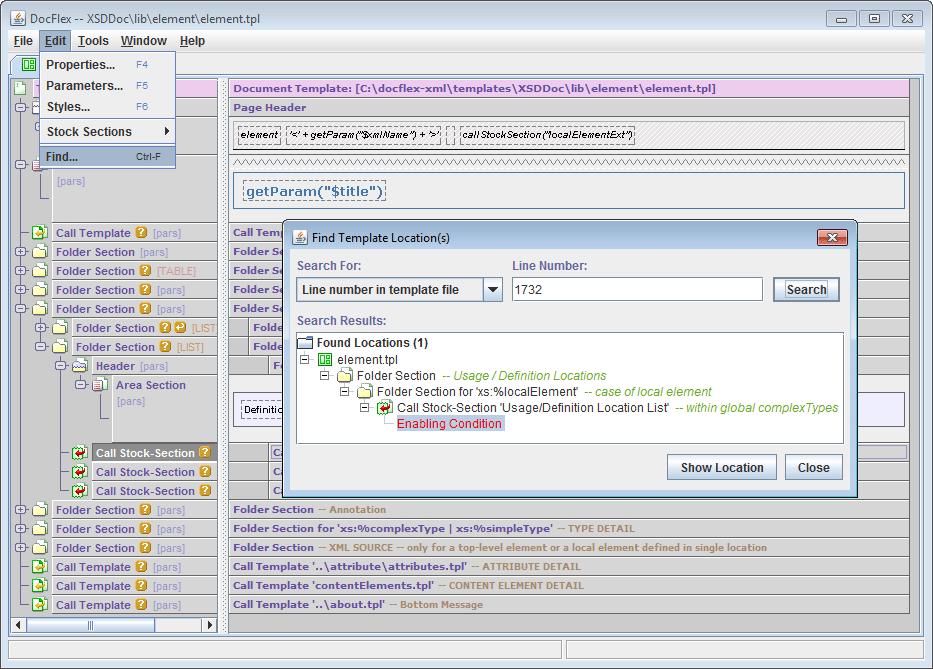FlexDoc/XML - Running Generator