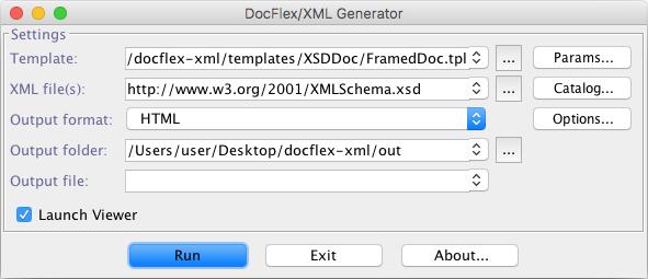 Oxygen XML « Integrations « DocFlex/XML