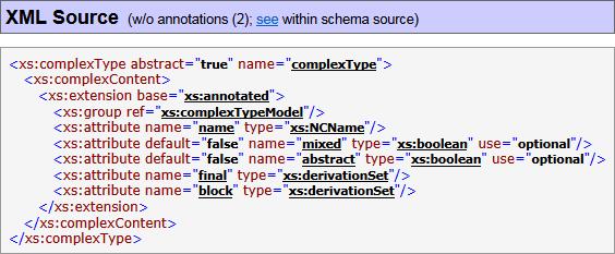 FlexDoc/XML - XSDDoc (XML Schema Documentation Generator)