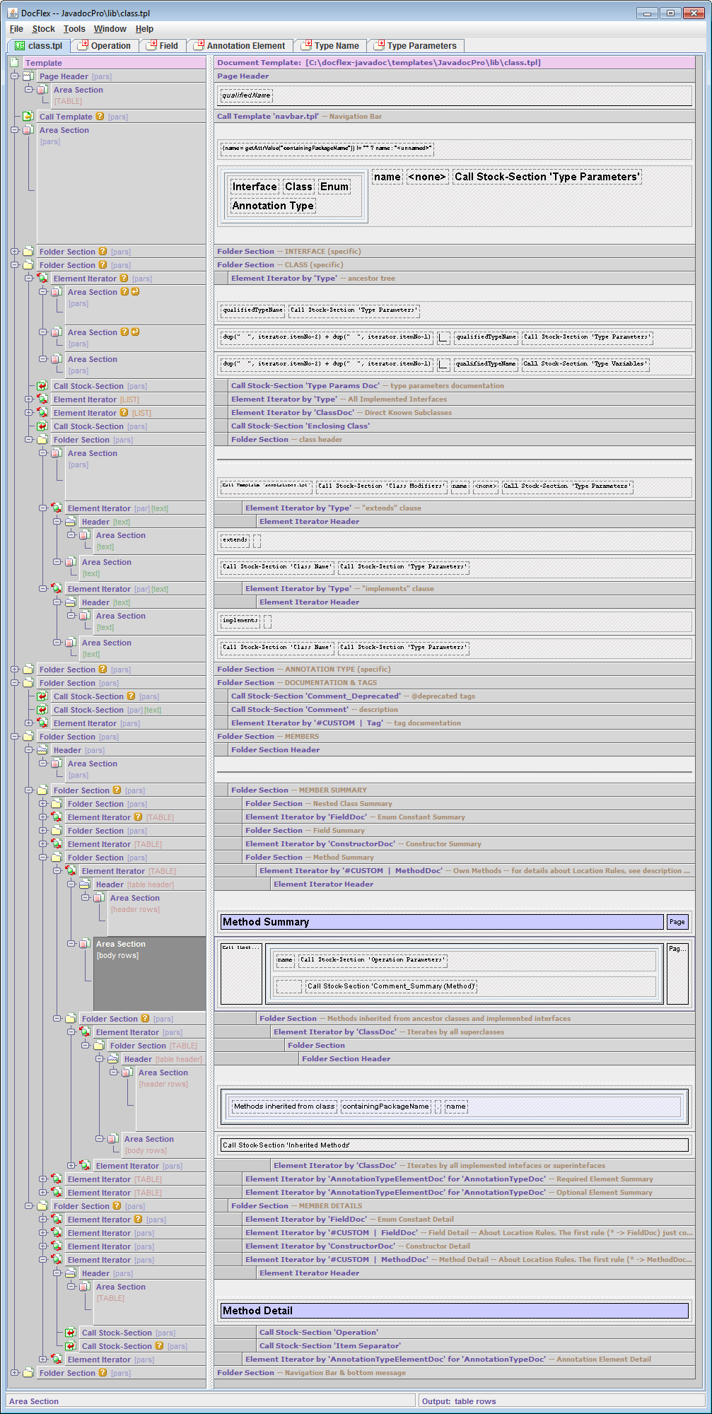 DocFlex/Javadoc 1.6.0: Multi-Format Doclet & Doclet Development Tool ...